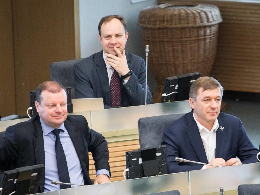 """""""Valstiečių"""" prašymu iš Seimo darbotvarkės išimtas ligoninių pertvarkos projektas"""