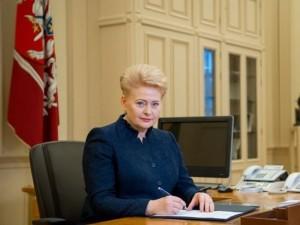 Prezidentė pasirašė kitų metų biudžetą