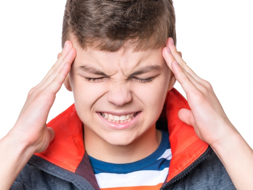 Kodėl vaikui skauda galvą?